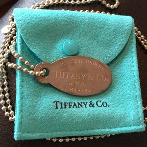 Jewelry - TIFFANY & CO. Dog Tag